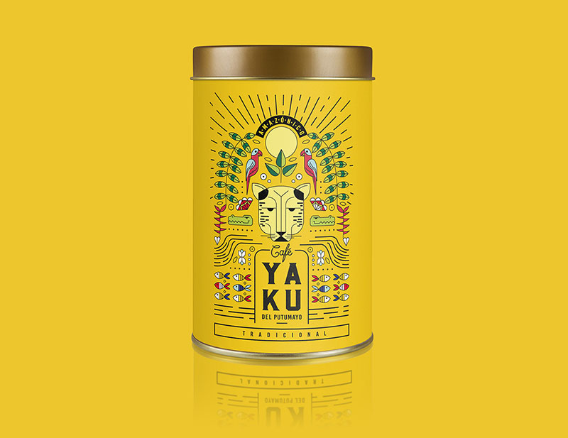 Packaging amarillo yaku