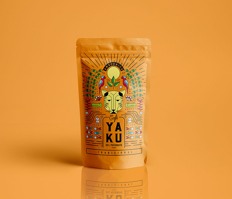 Packaging naranja yaku